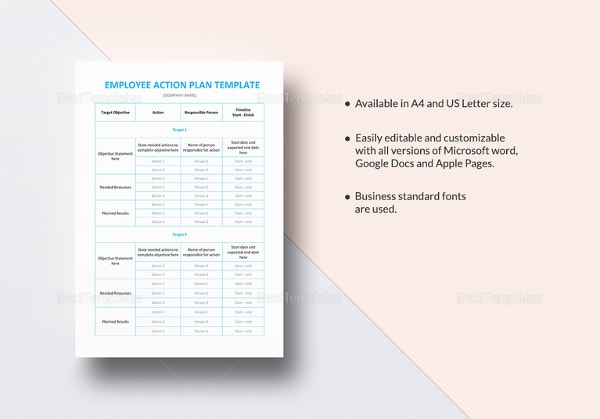 employee-action-plan-template