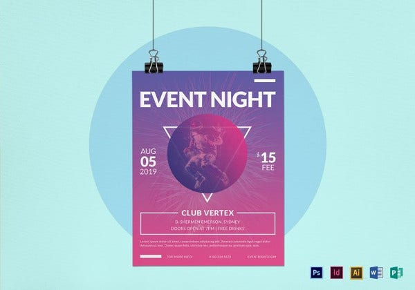 event-night-flyer-template