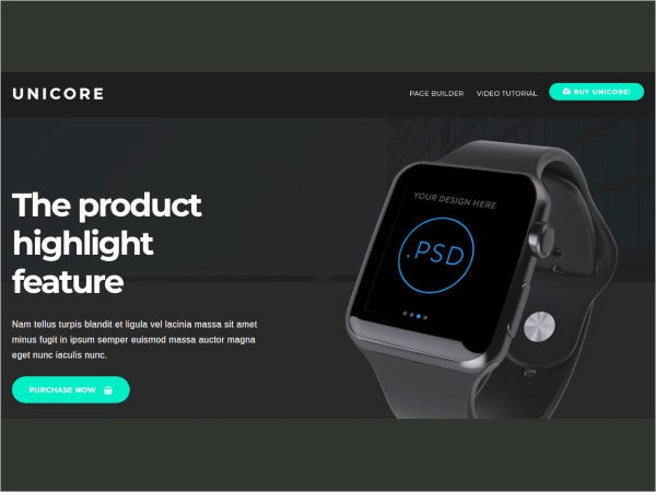 mobirise builder with 20 html bootstrap landing page