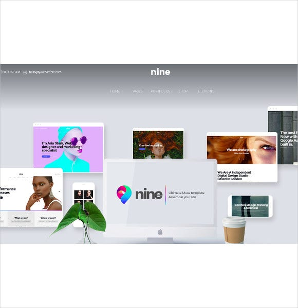 nine muse template