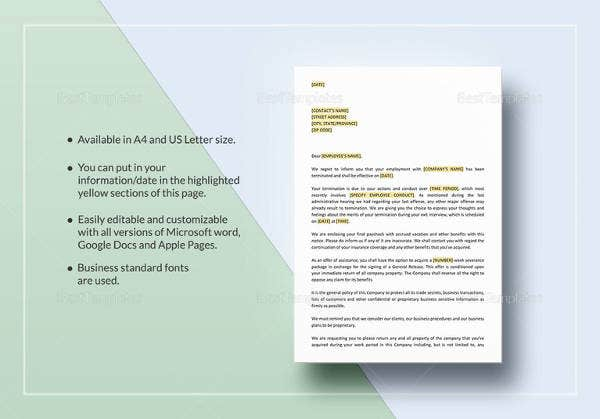 notice-of-termination-letter-template
