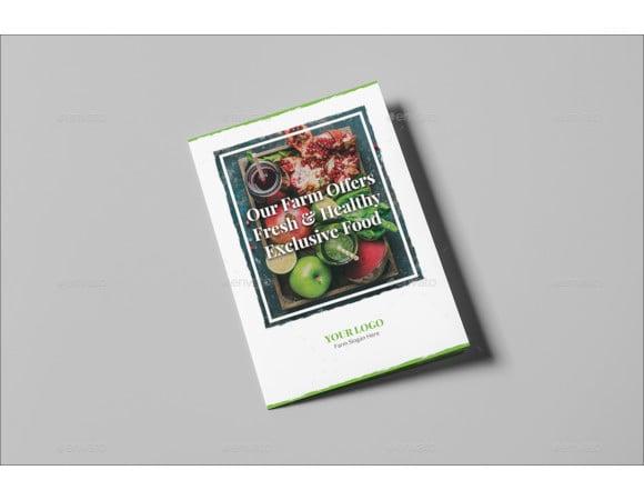 organic food bi fold