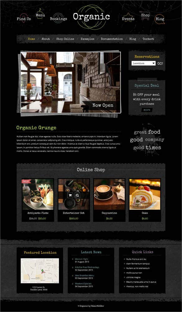 organic-grunge-website-template