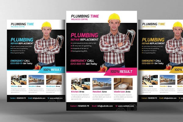 plumber service template