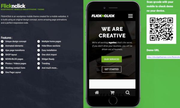 responsive mobile smartphone theme