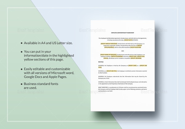 sample-employee-confidentiality-agreement-template