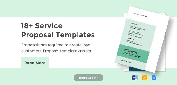 18+ Service Proposal Templates - Word, PDF, Apple Pages, Google Docs