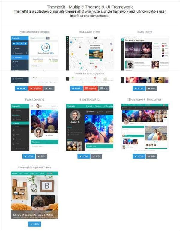 social network multiple admin bootstrap themes21