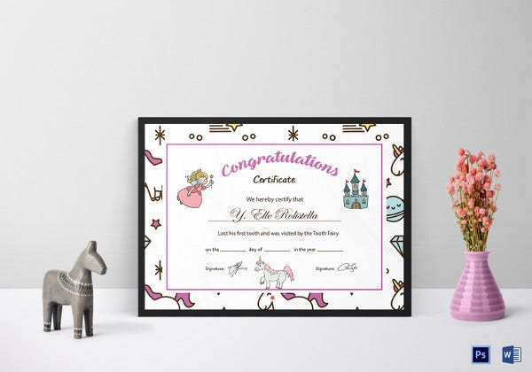tooth-fairy-congratulation-certificate-template
