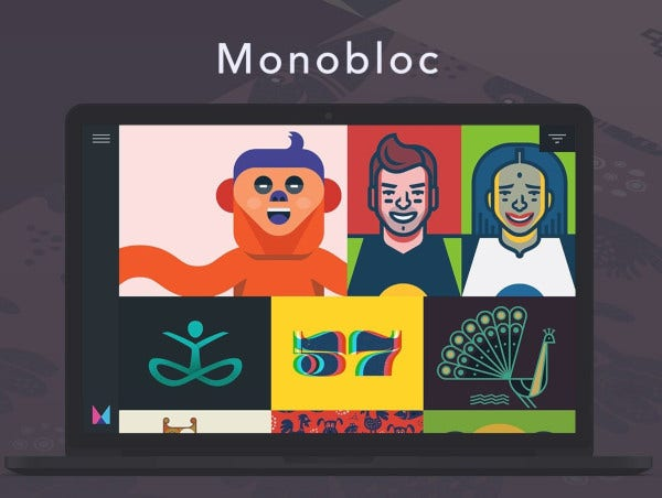 vintage monobloc tumblr theme