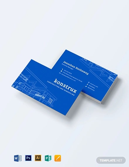 modern construction business card1