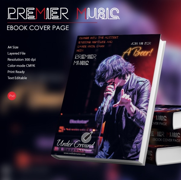premier music ebook cover page