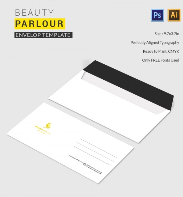 Beauty Parlour Envelope
