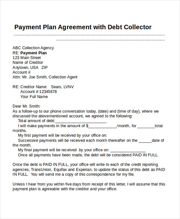 17 Agreement Templates Free Sample Example Format – Payment Agreement Template