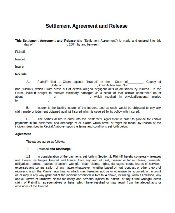 22 Agreement Templates Free Sample Example Format