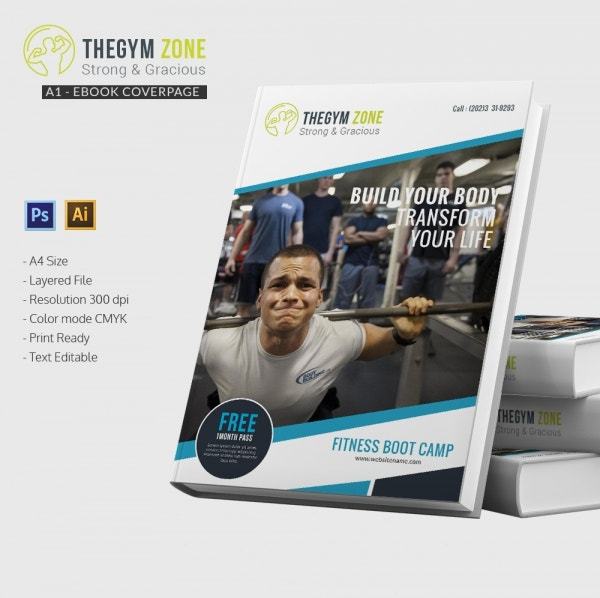 gym e book cover page