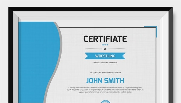 wrestlingcertificatetemplate