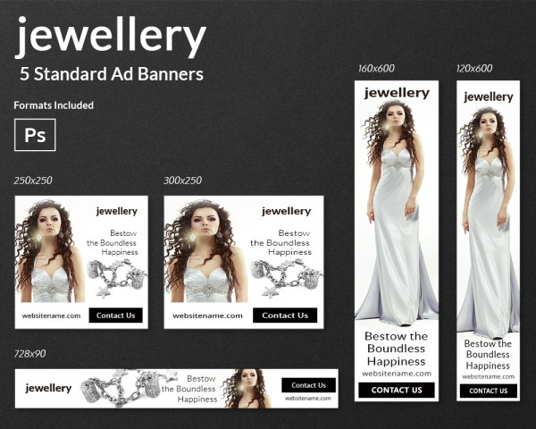 Jewelry-Banner Ads