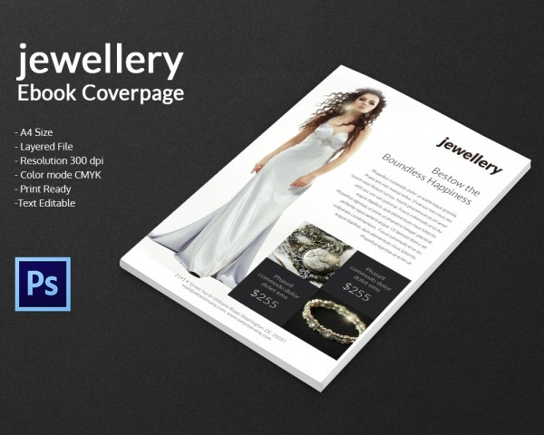 Jewelry eBook Cover Page