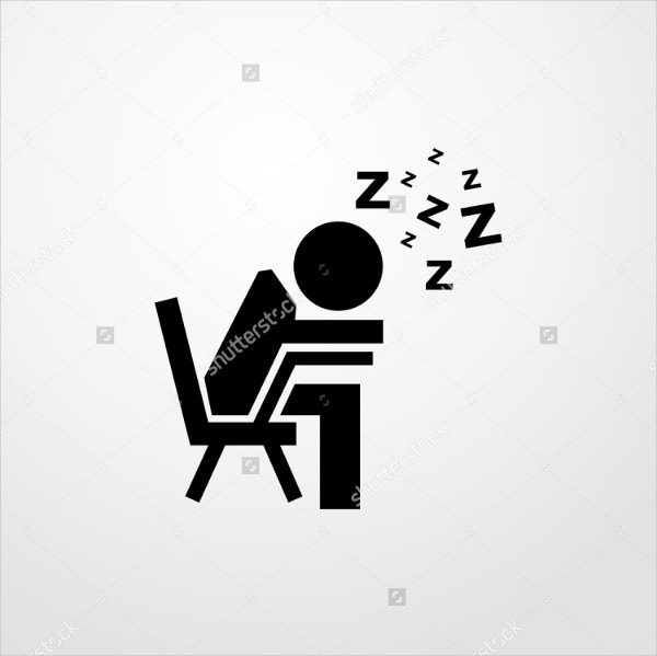 Student Sleeping Icon