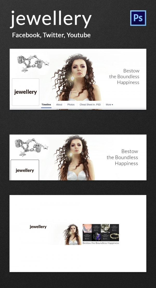 jewelry social cover pages