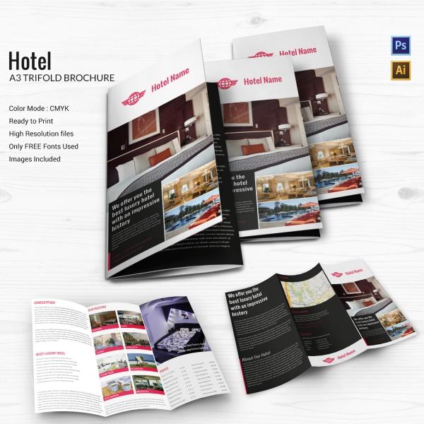 A3 Tri-fold Brochure