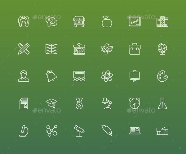 School Folder Icon