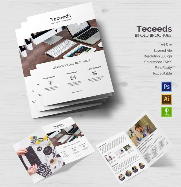Teceeds Bi-fold brochure
