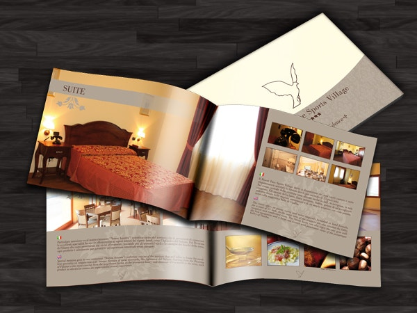 Resort Pace Brochure Template