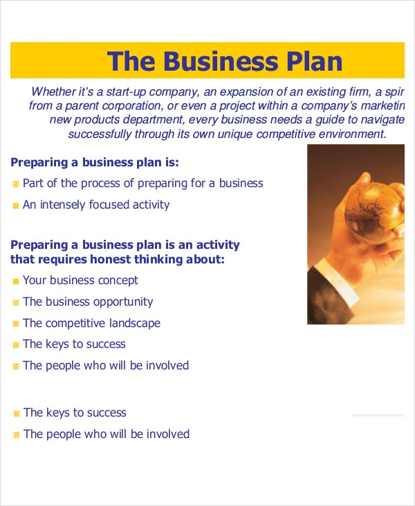 sample business plan presentation This simple example gives a basic understanding of business plans and how to present them of course a full-fledged business plan is a lot more complex.