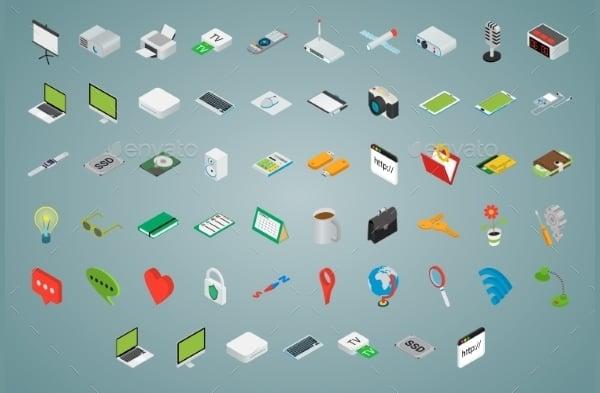 3D Desktop Icons