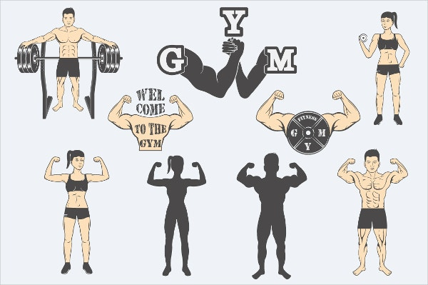 Fitness Center Icons
