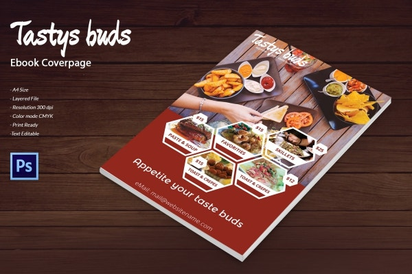 restaurant buds ebook cover page