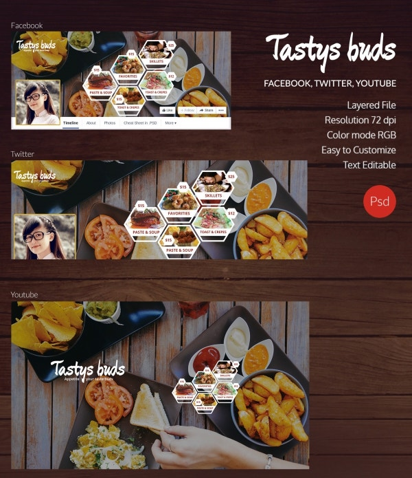 restaurant buds social cover page