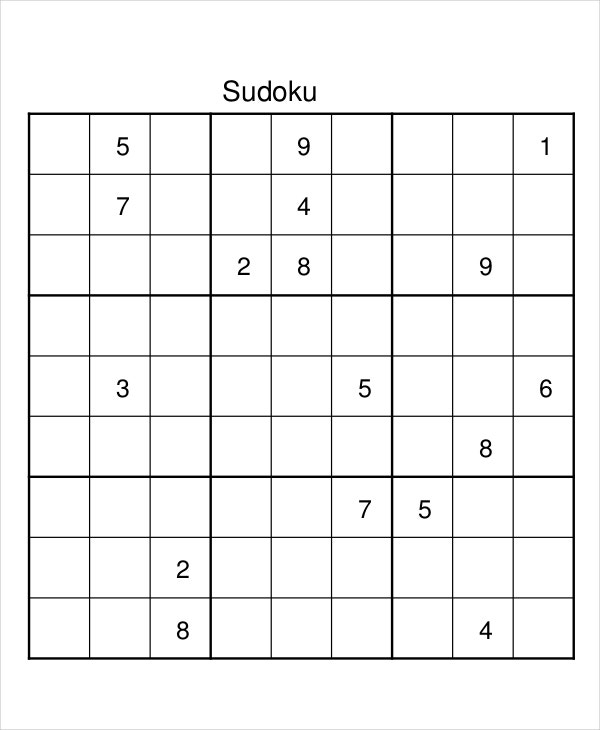 photograph regarding Multi Sudoku Printable identify 8+ Sudoku Templates - No cost Pattern, Instance, Layout Cost-free