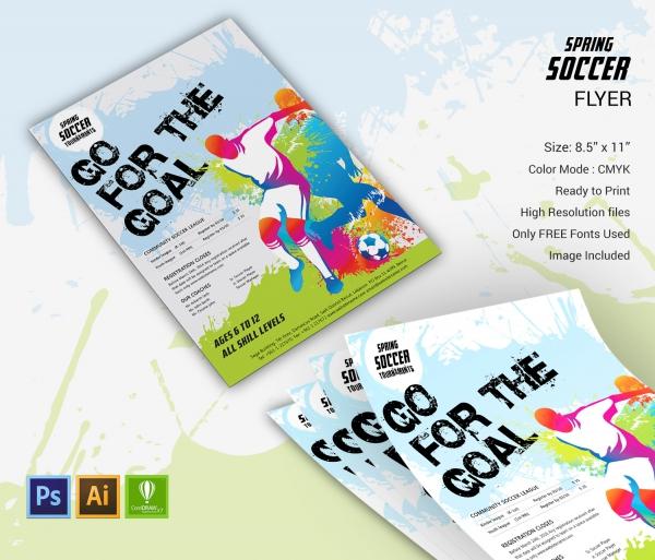 Spring Soccer Flyer