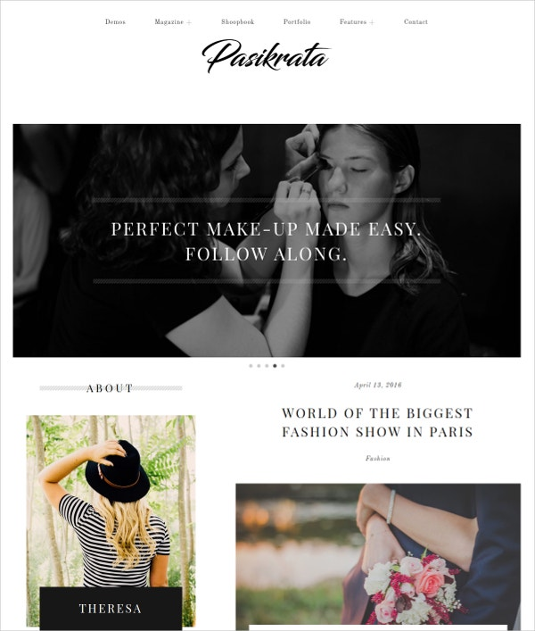 Affiliate WordPress Blog Theme $49