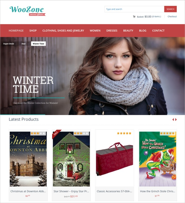 Amazon Affiliate WordPress Theme $59