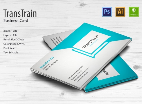 Training Institute Business Card