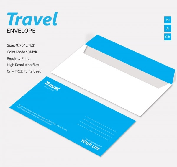 travel envelope