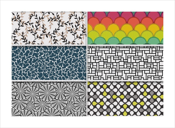 Freebie with 6 Seamless Geometric Patterns