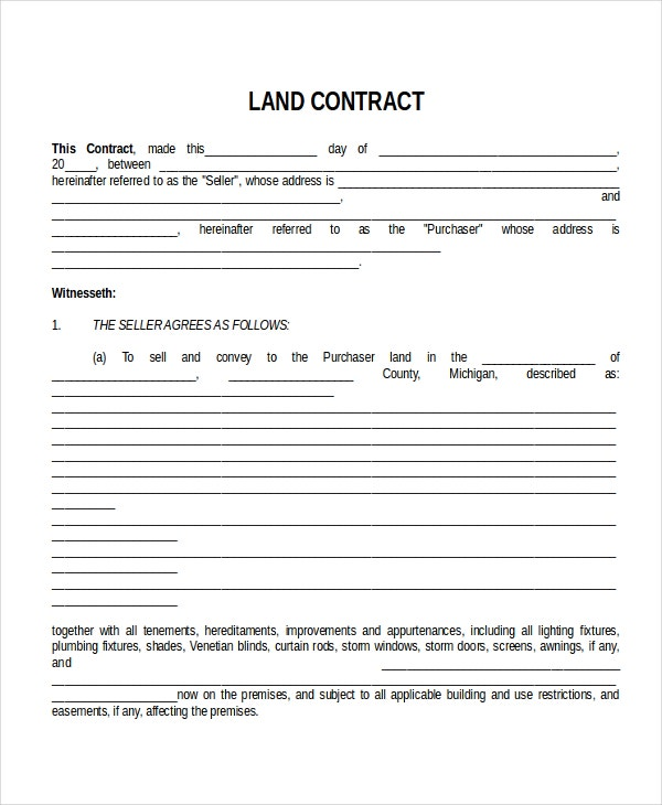 sales contract template word