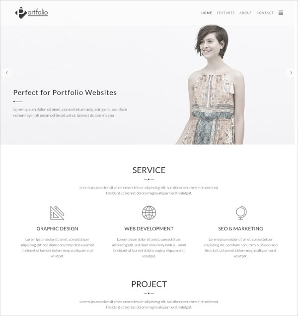 photography portfolio studio 3 column wordpress theme 49