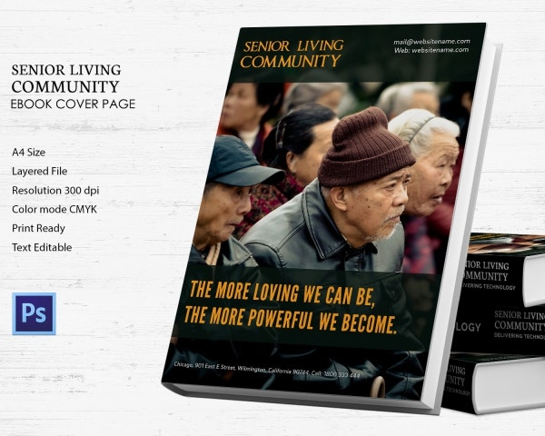 senior living community ebook cover