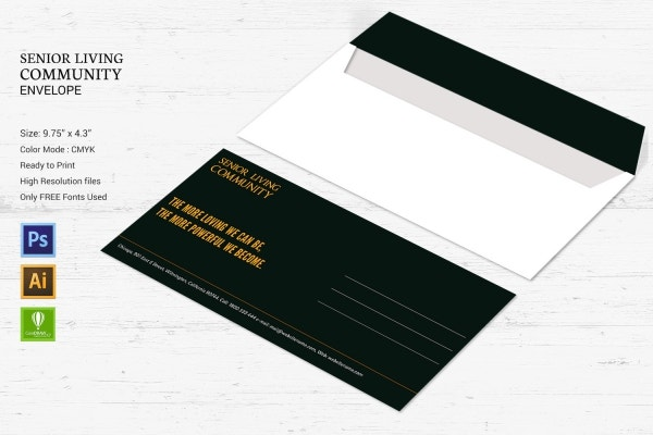 senior living community envelope