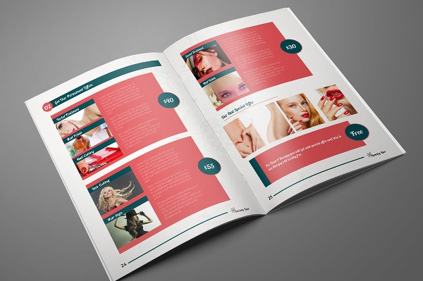 15 great examples of professional booklet designs psd for Sample product catalogue template