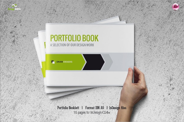 Beautiful Portfolio Booklet Design