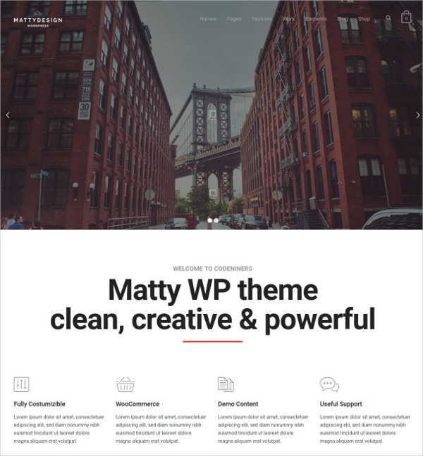 Powerful IT Corporate WordPress Theme $59