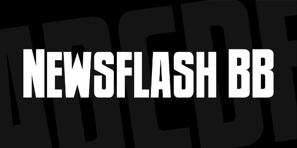 Newsflash BB Font