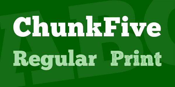 ChunkFive Font Family